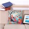 Vintage Homes Style 2 Square Decorative Pillow