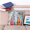Vintage Homes Style 4 Square Decorative Pillow