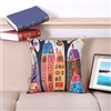 Vintage Homes Style 5 Square Decorative Pillow