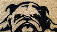 Dis Week's Happee iz on Backorder Custom Funny Bulldog Doormat by Killer Doormats