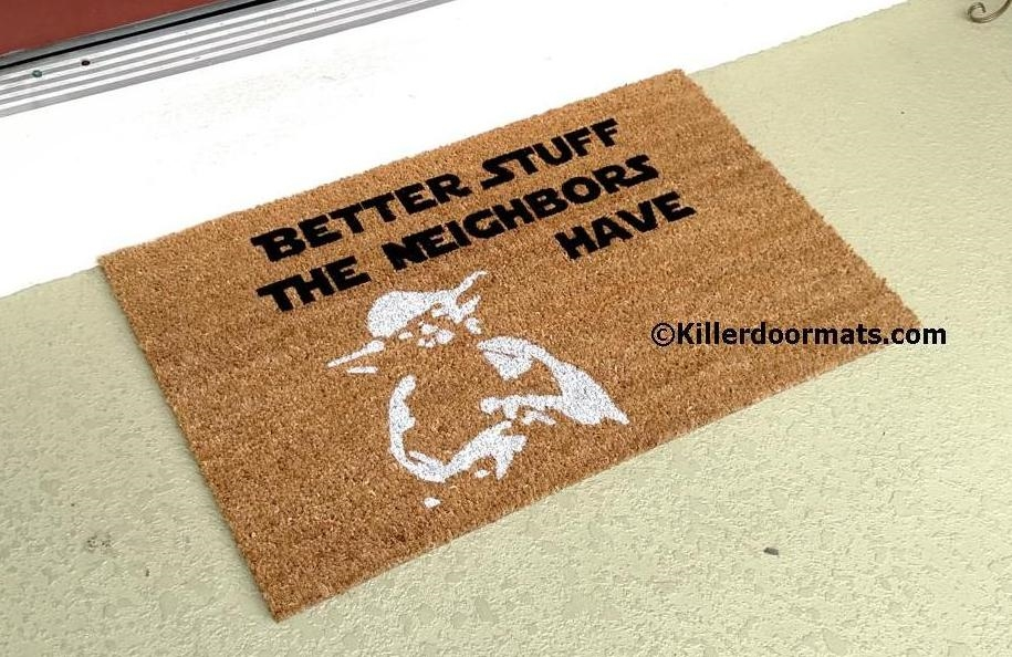 Merveilleux KillerDoormats Custom Doormats Personalized For The Rude, Crude ...