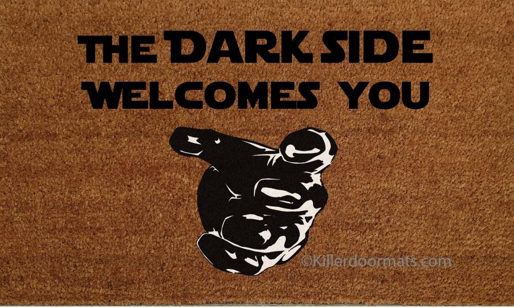 The Dark Side Welcomes You Custom Handpainted Fandom