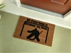 My Other Home is Between the Pipes Hockey Custom Sports Handpainted Welcome Doormat by Killer Doormats