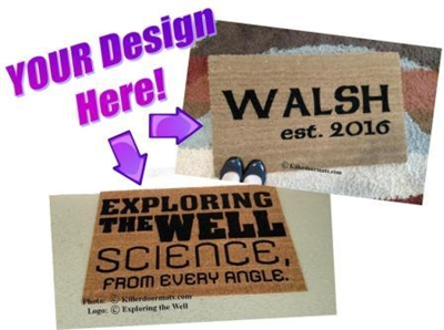 Your Personalized Custom Doormat - Your design idea/image by Killer Doormats