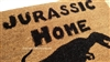 Jurassic Home Custom Doormat by Killer Doormats