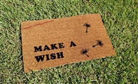 Make a Wish Dandelion Custom Doormat by Killer Doormats