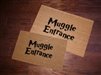 Muggle Entrance Fandom Custom Doormat by Killer Doormats