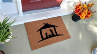 Nativity Custom Doormat by Killer Doormats
