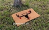Christmas Reindeer Trophy Custom Doormat by Killer Doormats