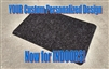 Your Personalized Custom Indoor Doormat - Your design idea/image by Killer Doormats