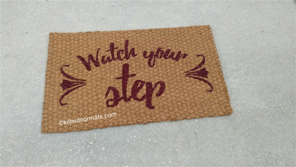 Personalized Custom Indoor Coir Doormat - Your design idea/image by ...