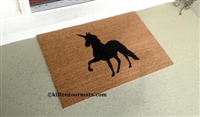 Unicorn Custom Doormat by Killer Doormats