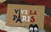 Vive La Paris Custom Doormat by Killer Doormats, Two Versions