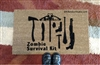 Zombie Survival Kit Custom Doormat by Killer Doormats