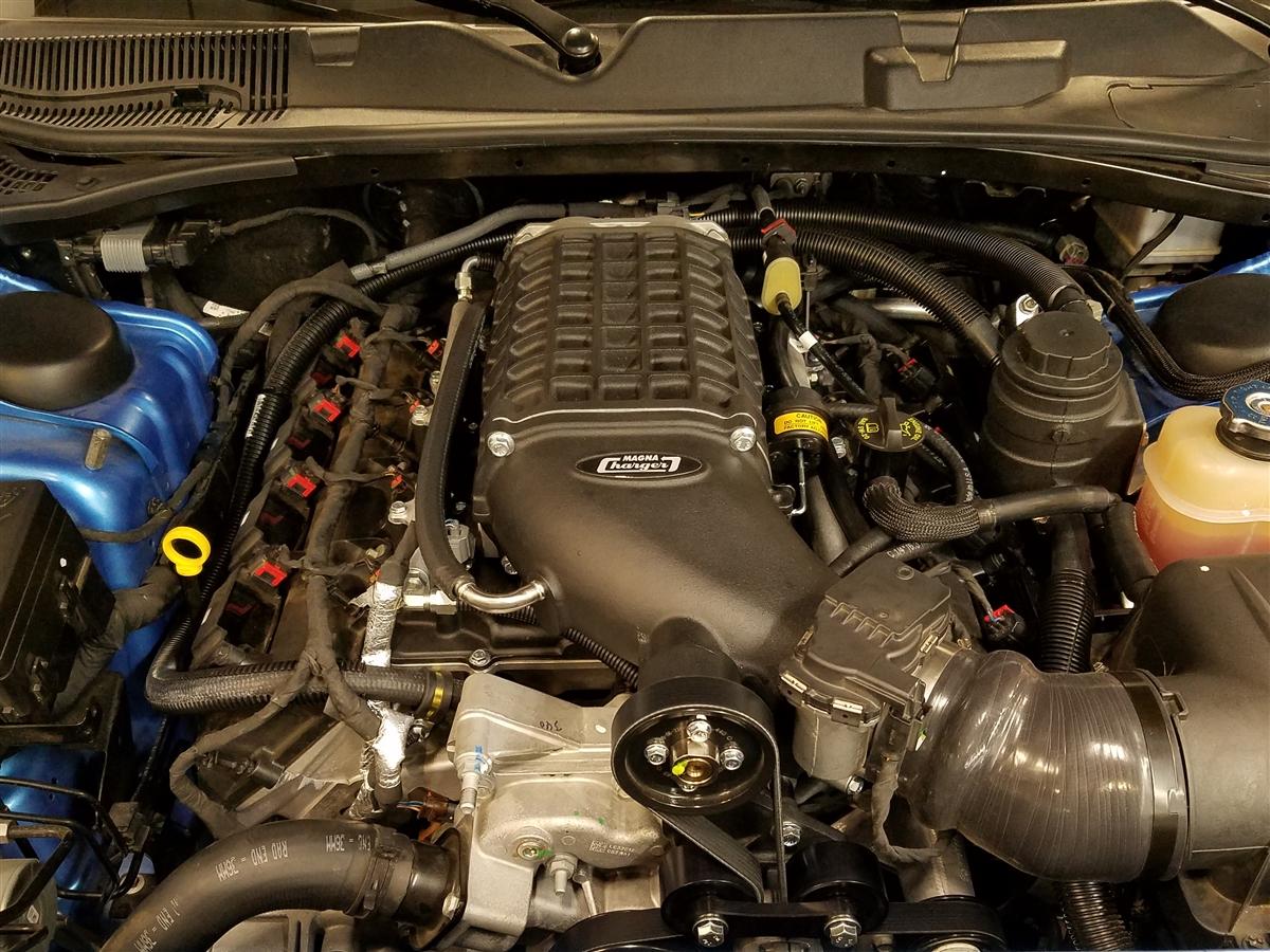 Dodge Challenger 5 7l V8 Hemi Supercharger System 2015 2019 Ecu Unlock Required