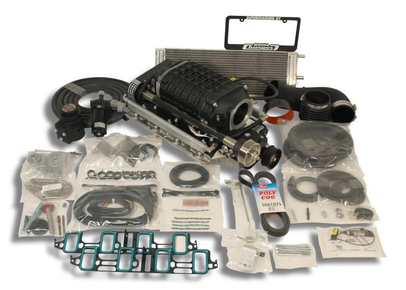 Pontiac GTO LS2 6 0L V8 Supercharger System (No Calibration)