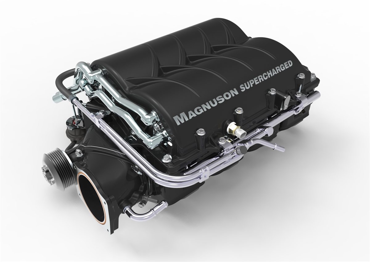 Image result for MAGNUSON CHEVY SS SUPERCHARGER