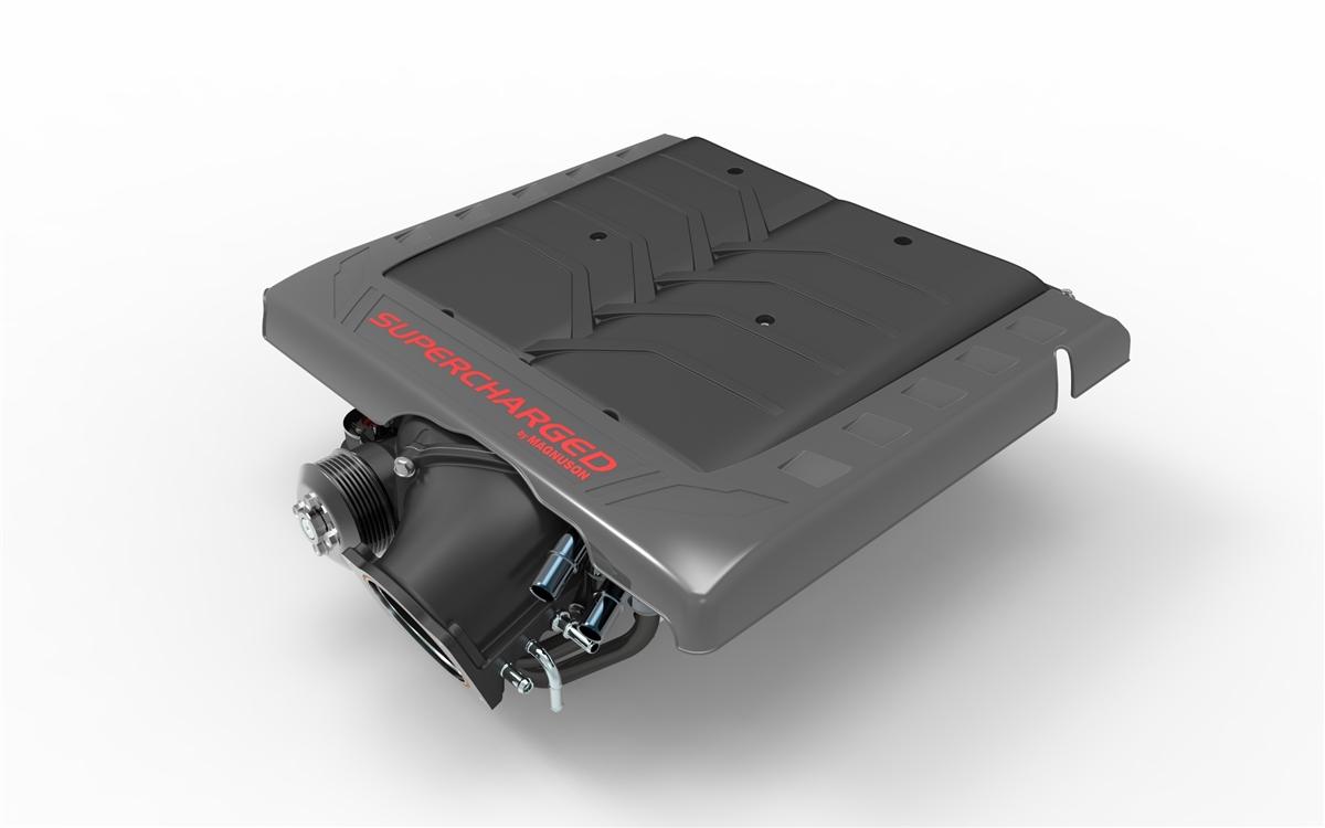 Chevrolet Corvette C7 Stingray LT1 6 2L V8 Heartbeat Supercharger System  (8-Rib Secondary drive - DRY SUMP ONLY)