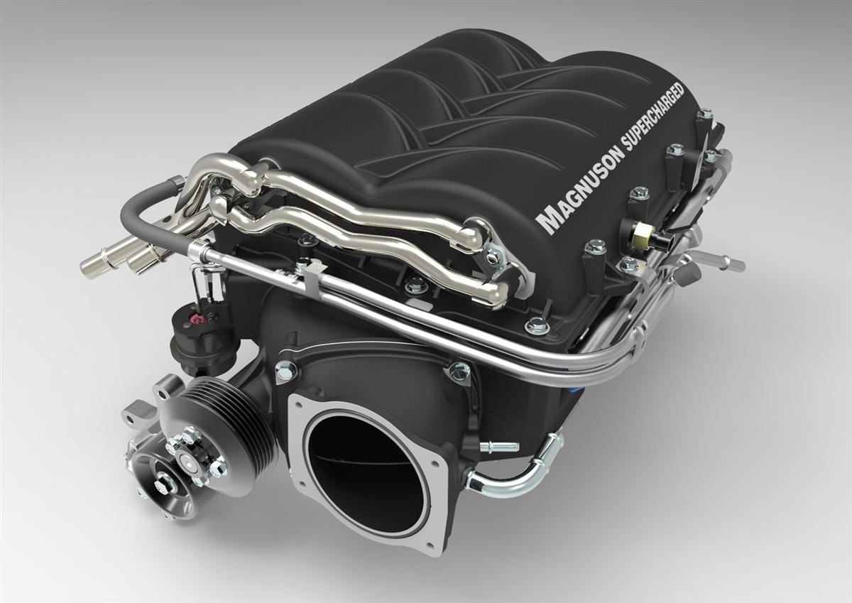 Chevrolet Corvette C6 Z06 LS7 7 0L V8 Heartbeat Supercharger System