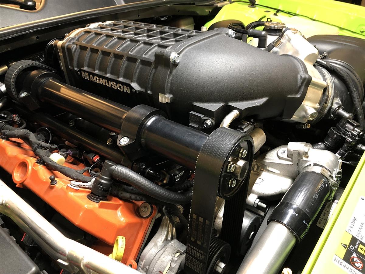 Dodge Hellcat 6 2L V8 HEMI Supercharger System