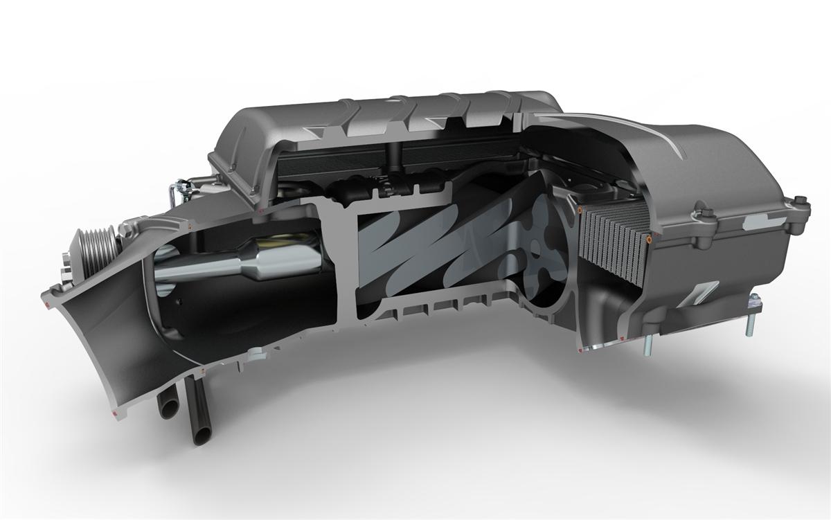 Chevrolet Camaro SS LT1 6 2L V8 Heartbeat Supercharger System (No  Calibration)