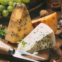 Enjoy three selections of Germany's best artisan cheeses shipped right to your door in a monthly shipment. Average shipment weighs 1.5 lbs. to 2 Lbs.
