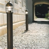 LAR.194/80/A Aged Brass Path and Garden Light by Aldo Bernardi