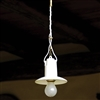 LAR.74.00 Isola Small Ceramic Interior Pendant with Shade by Aldo Bernardi