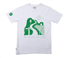 Women's organic cotton illustration t-shirt - Green