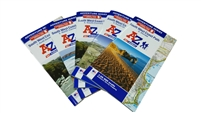 A-Z Full Set of 5 Adventure Maps