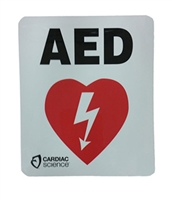 Cardiac 160-0163-001 Powerheart AED Decal