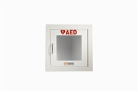 Cardiac 50-00392-10 Wall Cabinet White See-through Door