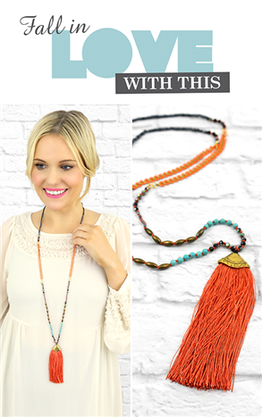 Cleo Necklace Necklace-Beauty and the Boutique