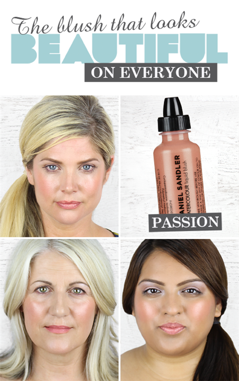 Watercolour Blush In Passion,  Beauty and the Boutique