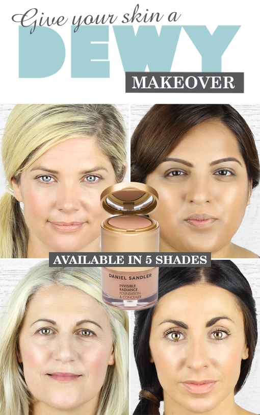 Sandler - Invisible Radiance Foundation and Concealer, Beauty and ...