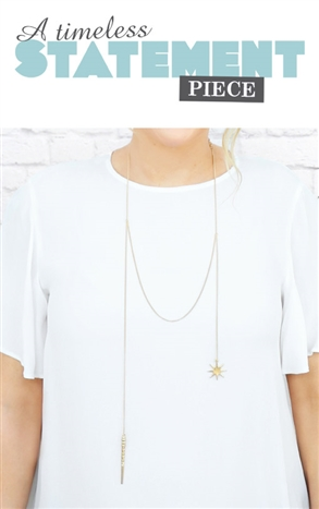star and shell necklace - Beauty and the Boutique
