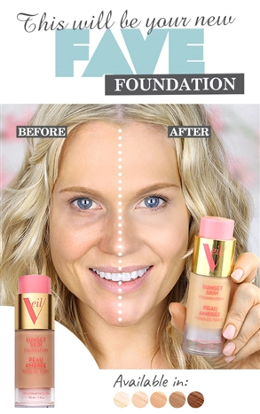 Veil Sunset Skin Foundation, Beauty and the Boutique
