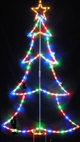 Large Outline Christmas Tree