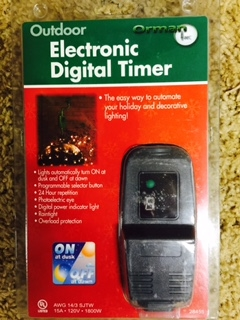 Electronic Digital Timer