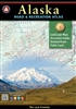 Alaska Road & Recreation Atlas, Benchmark Maps, Benchmark Atlas Parks, Trails, Peaks