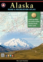 Alaska Road & Recreation Atlas, Benchmark Maps, Benchmark Atlas