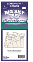 Baker County, OR Map