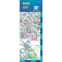 Boise City Laminated Map