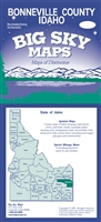 Bonneville County, ID Map