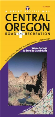 Central Oregon Road & Recreation Map