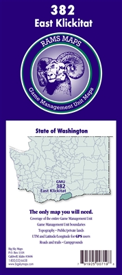 East Klickitat GMU Map