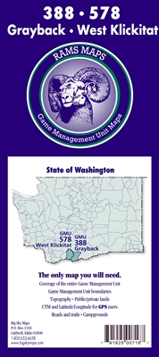 Grayback/West Klickitat GMU Map