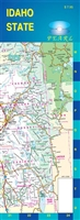 Idaho State Laminated Map