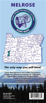 Melrose GMU Map