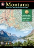 Montana Road & Recreation Atlas, Montana Atlas, Benchmark Atlas, hunting, hiking, recreation atlas, Camping, Cabins, RV, Fishing spots and available species, Hunting regions and units